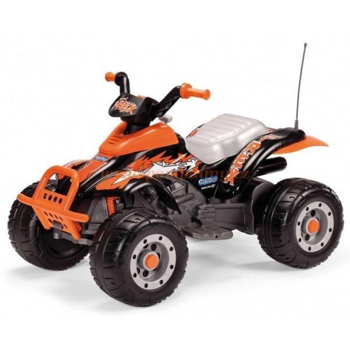Электромобиль Квадроцикл Peg Perego Corral T-REX Black/Orange IGOR 0066 2015