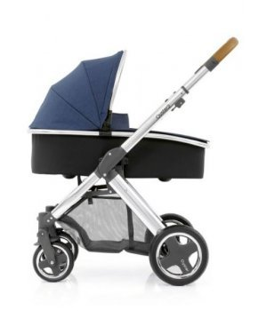 Универсальная коляска 2 в 1 BabyStyle Oyster 2 Oxford Blue / Mirror Tan (Синяя)