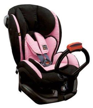 Автокресло BeSafe iZi Kid X1 Черный с розовым