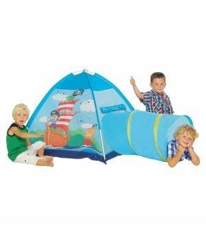 Детская игровая палатка с тунеллем Five Stars Пираты