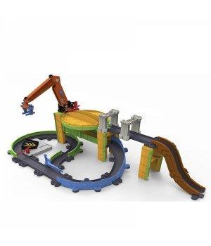 Игровой набор Chuggington Грузовая станция с паровозиком Коко