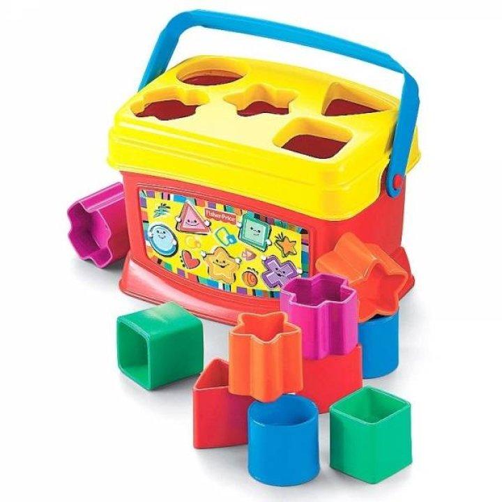 Интерактивная игрушка Fisher-Price Ведерце с кубиками Сортер
