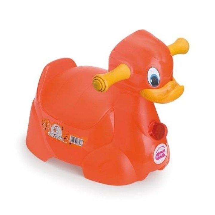 Горшок OK Baby Quack Красный