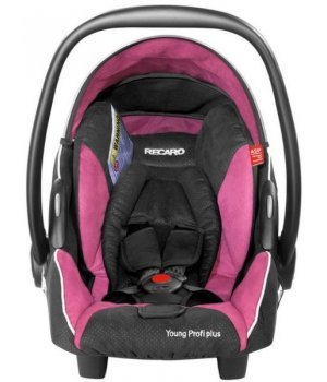 Автокресло RECARO Young Profi Plus Pink