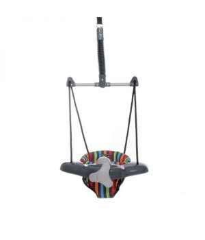 Детские прыгунки ABC design TWISTER multicolor (cерый в яркую полоску)