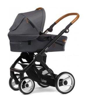 Классическая коляска Mutsy EVO Urban Nomad Dark Grey / Black Cognac