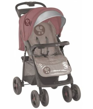 Коляска трансформер 2 в 1 Bertoni Combi Just4Kids beige terracotta