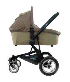 Универсальная коляска 2 в 1 Pur Equipage Combo 12.5 коричнево-бежевая