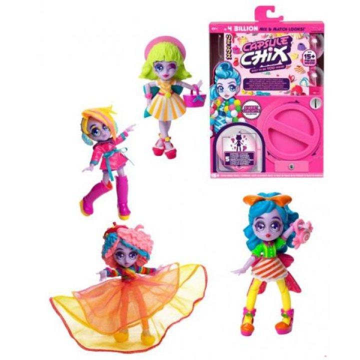 Игрушечный набор сюрприз Moose  CAPSULE CHIX с куклой Sweet Circuits