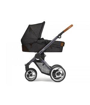 Классическая коляска Mutsy EVO Industrial Charcoal/ Dark Grey Cognac