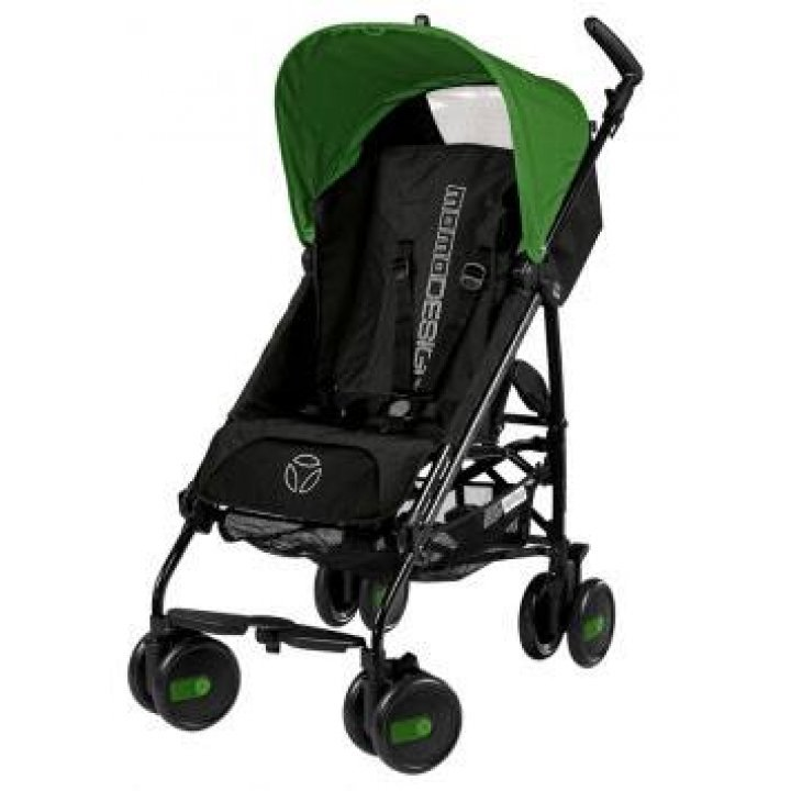 Коляска трость Peg-Perego Pliko Mini Classico GREEN - MOMO Design