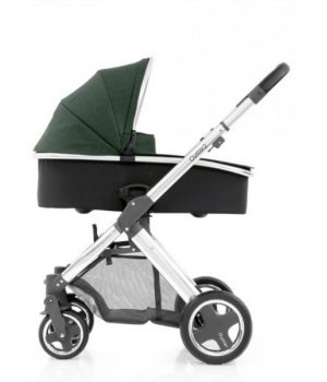 Универсальная коляска 2 в 1 BabyStyle Oyster 2 Olive Green / Mirror Black
