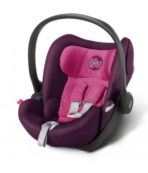 Автокресло Cybex Cloud Q Mystic Pink-purple