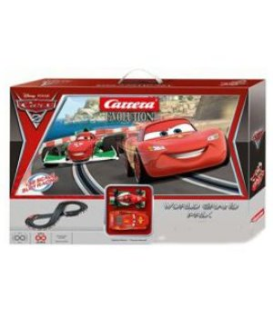 Гоночная трасса Carrera Evolution Cars 2 - World Grand Prix 200х80см, 4.5м