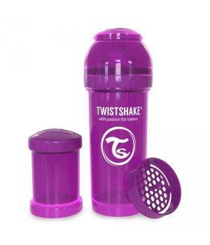 Twistshake антиколиковая бутылочка 180мл Фиолетовая (78005 )