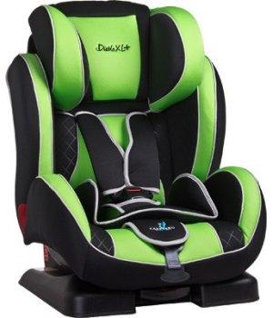 Автокресло Caretero Diablo XL + green