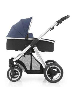Универсальная коляска 2 в 1 BabyStyle Oyster Max Oxford Blue / Mirror (Синяя)