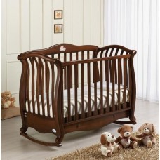 Кроватка Baby Italia ANDREA VIP ANTIQUE орех