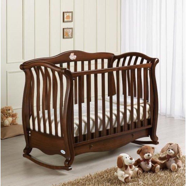 Кроватка Baby Italia ANDREA VIP ANTIQUE орех