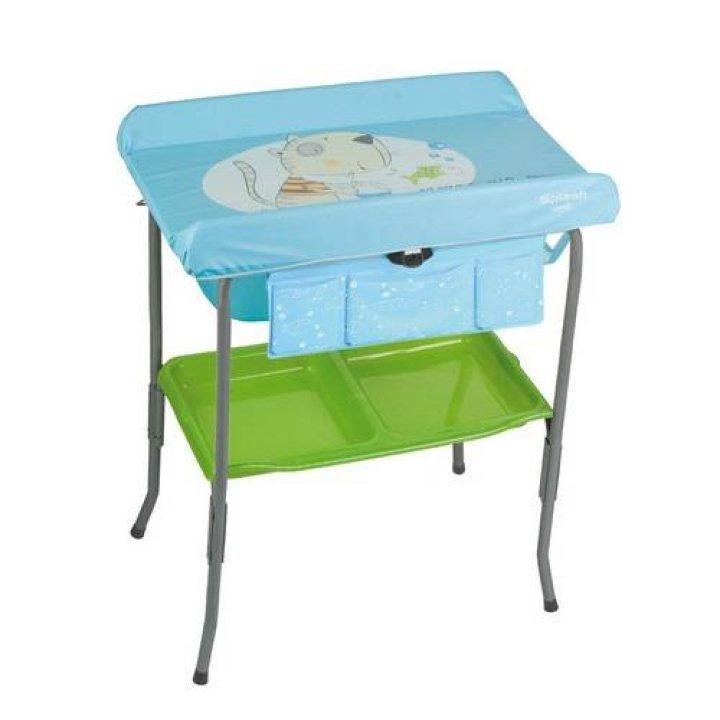 Пеленальный столик Jane SPLASH голубой
