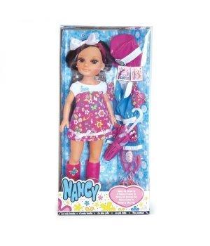 Кукла Nancy Famosa брюнетка с набором одежды