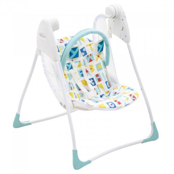 Кресло-качалка Graco Baby Delight Block Alphabet