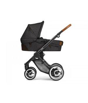 Классическая коляска Mutsy EVO Industrial Charcoal/ Black Cognac