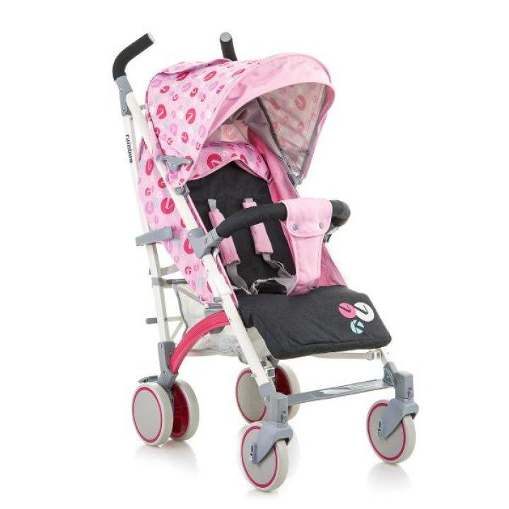 Прогулочная коляска трость Babyhit Rainbow (D200) Pink Grey