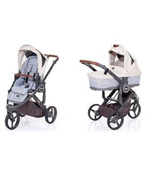 Универсальная коляска 2 в 1 ABC design Cobra Plus Sheep 2016 (шасси graphite grey)