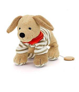 Мягкая музыкальная игрушка Sterntaler Собачка