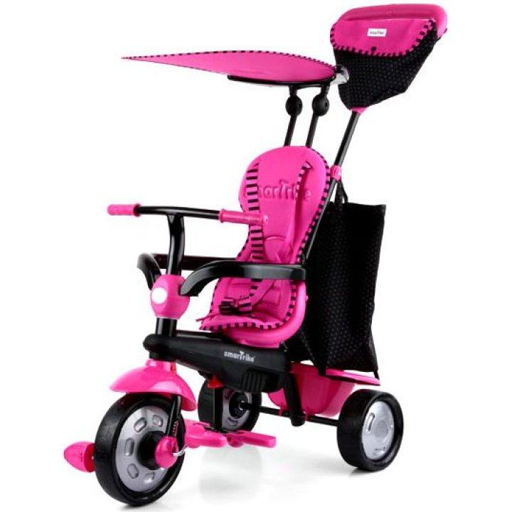 Детский велосипед Smart Trike Glow 4 в 1 Розовый