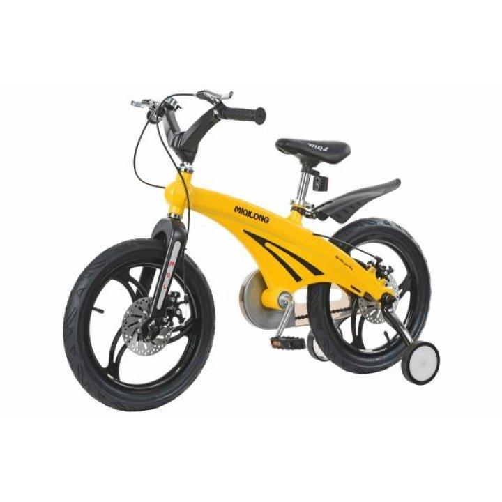 Детский велосипед Miqilong GN Желтый 16