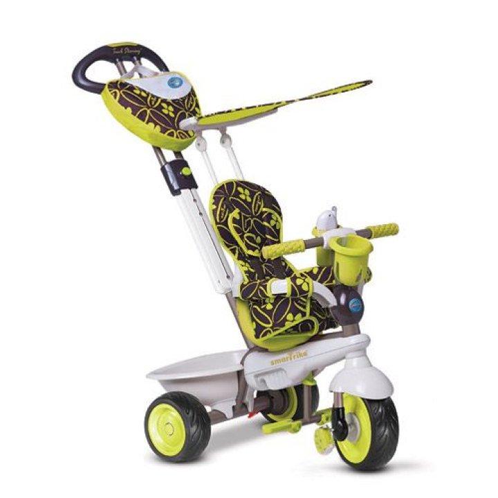 Детский велосипед Smart Trike Dream 4 в 1 зеленый