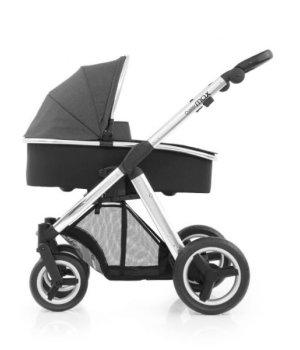 Универсальная коляска 2 в 1 BabyStyle Oyster Max Tungsten Grey / Mirror (Серая)