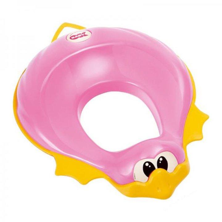 Сидение на унитаз OK Baby Ducka розовый