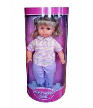 Кукла мягконабивная Lotus Onda 45 см в одежде, в штанишках