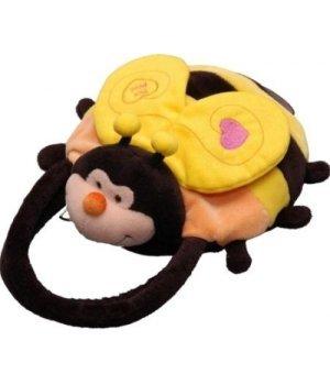 Aurora мягкая Игрушка сумка Пчела 28 см