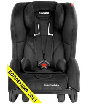 Автокресло RECARO Young Expert plus Black