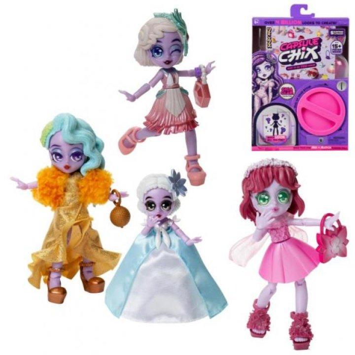 Игрушечный набор сюрприз Moose  CAPSULE CHIX с куклой Giga Glam
