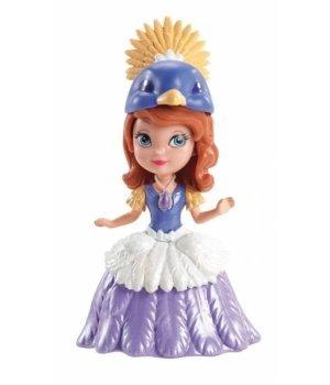 Кукла Sofia the 1st Принцесса Дисней София Первая В синем платье с желтой короной