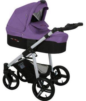 Универсальная коляска 3 в 1 Bebetto Solaris Фиолетовый (260)