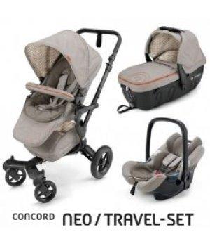 Универсальная коляска 3 в 1 Concord NEO Travel Set Cool Beige 2016