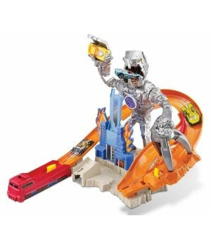 Автомобильный трек Mattel Hot Wheels Атака Карзиллы