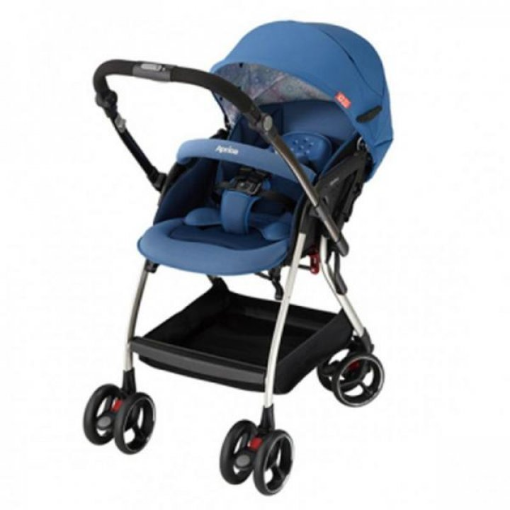 Прогулочная коляска Aprica Optia Синяя