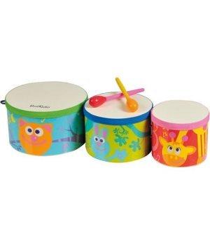 Детская игрушка Boikido Три африканских барабана Бонго