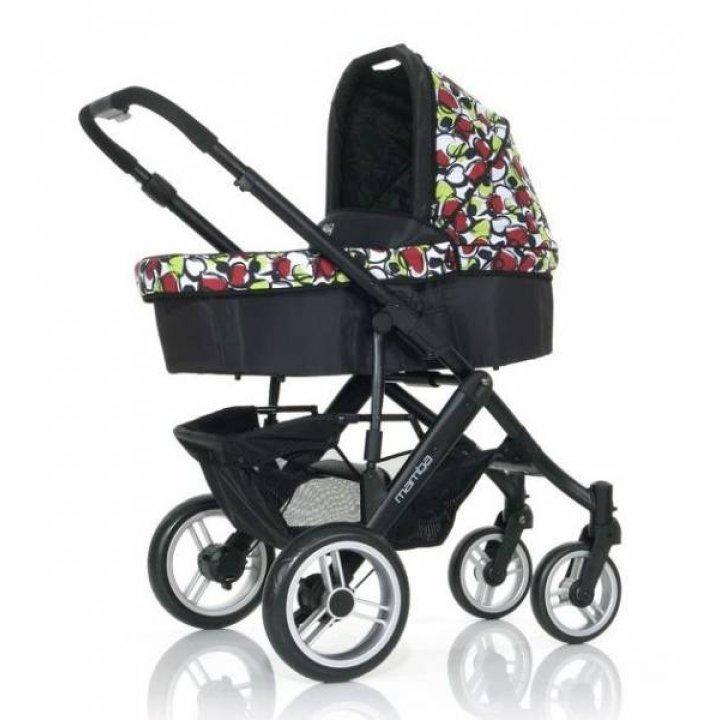 Универсальная коляска 2 в 1 ABC design Mamba Amore Nero (Limited Edition)