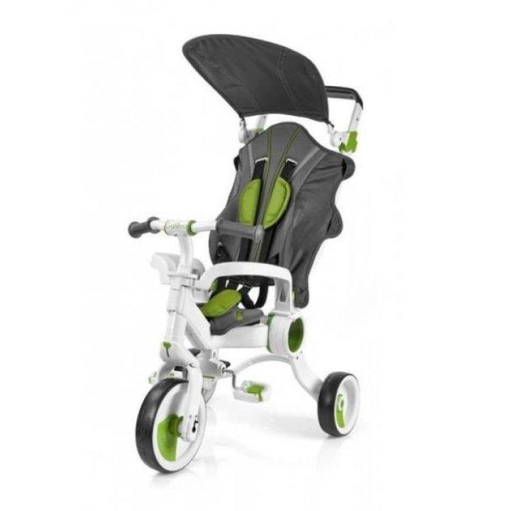Трехколесный велосипед Galileo Strollcycle  4в1 Зеленый