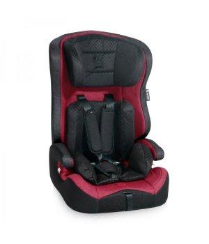 Автокресло Bertoni Solero Isofix red&black