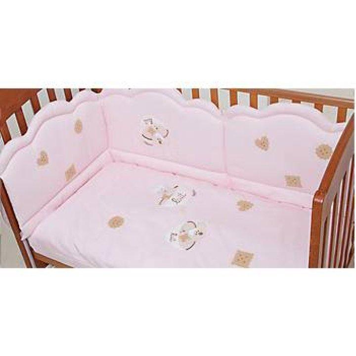 Постельный комплект Ruggeri Biscottino Розовый 13
