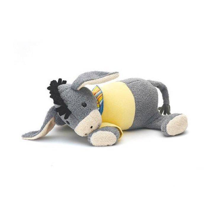Мягкая музыкальная игрушка Sterntaler Ослик серый